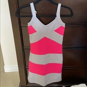 Hot Miami Styles fitted mini dress (Size small)
